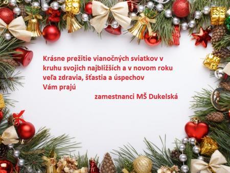 Prerušenie prevádzky MŠ počas vianočných prázdnin 4a863d7b29d